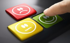 Direct Measure Of Customer Service Satisfaction. Push Button Survey